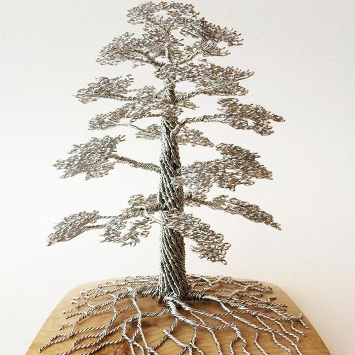 Клайв Мэддисон: Красивые деревья из проволоки