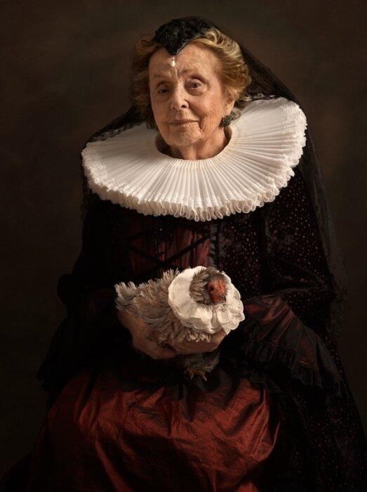 Фото в стиле фламандских художников