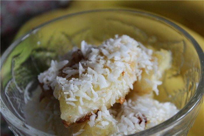 Десерт из бананов КЛАУ ПИН