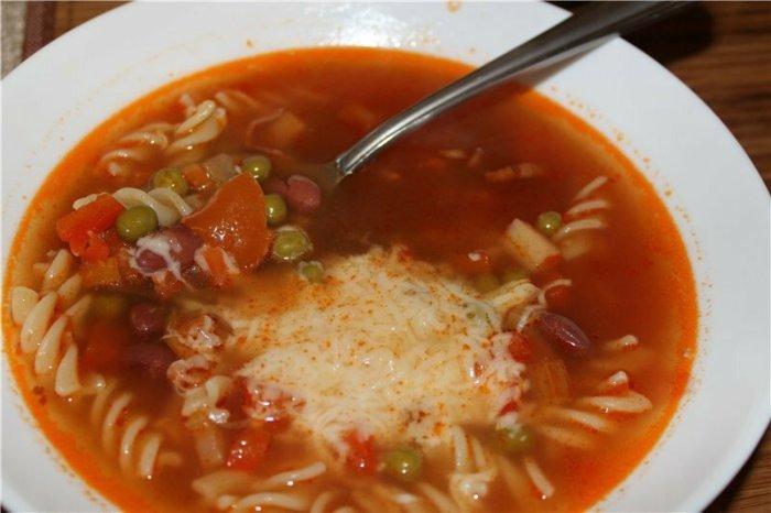 Суп минестроне от Белоники