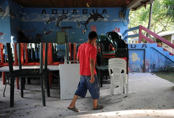 Фотографии места, где убили Мисс Гондурас и ее сестру
