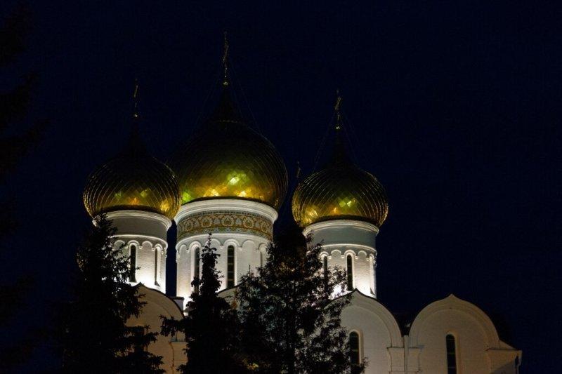 Купола Успенского собора, Ярославль