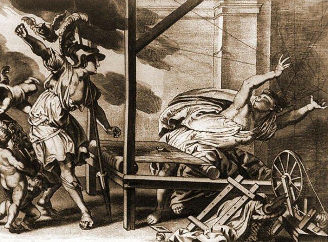Грецький міф про Арахну