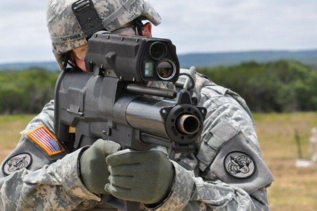 Современные виды оружия нелетального действия