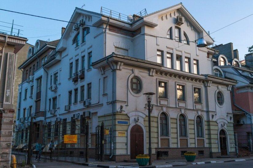 Старинный дом, Малая Покровская улица
