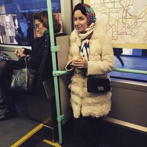 Тину Канделаки тоже часто можно встретить в автобусе