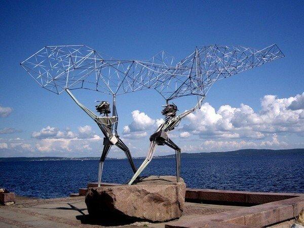 Памятник рыбакам, Петрозаводск