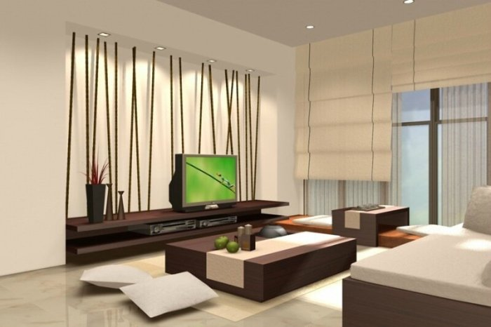 Создаем японский стиль в дизайне интерьера