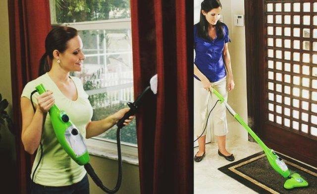 Паровая швабра для домашнего хозяйства   идеальный выбор!
