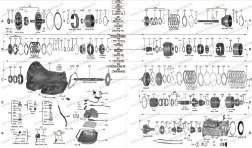 small resolution of diagram of 42rh wiring diagram for you 36rh transmission diagram