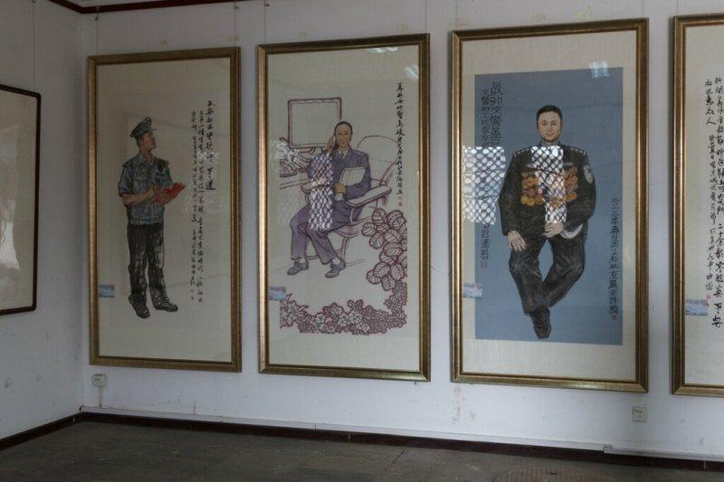 Выставка, современная китайская живопись