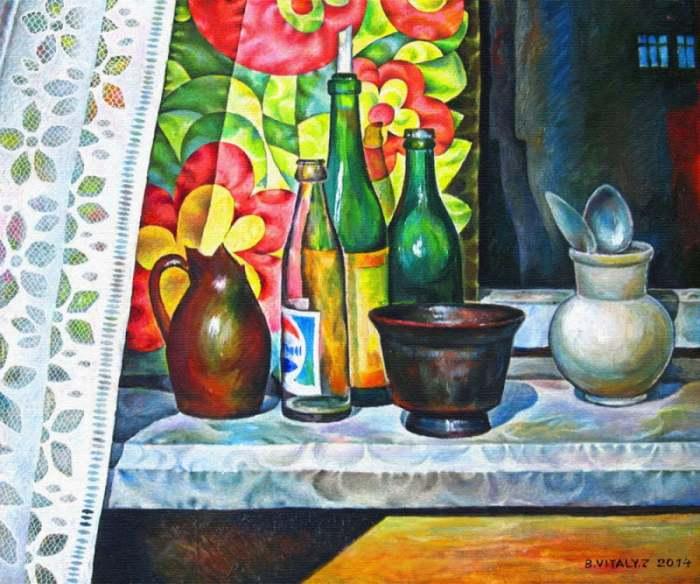 Виталий Заседко. Испанский художник российского происхождения.