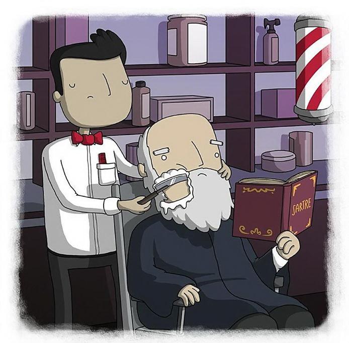 Борода не делает вас философом (итальянская пословица)