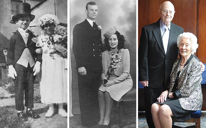 70 лет свадьбы.