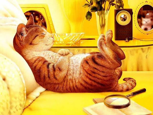 Макото Мурамацу. Если в доме нет кота – значит в доме пустота.