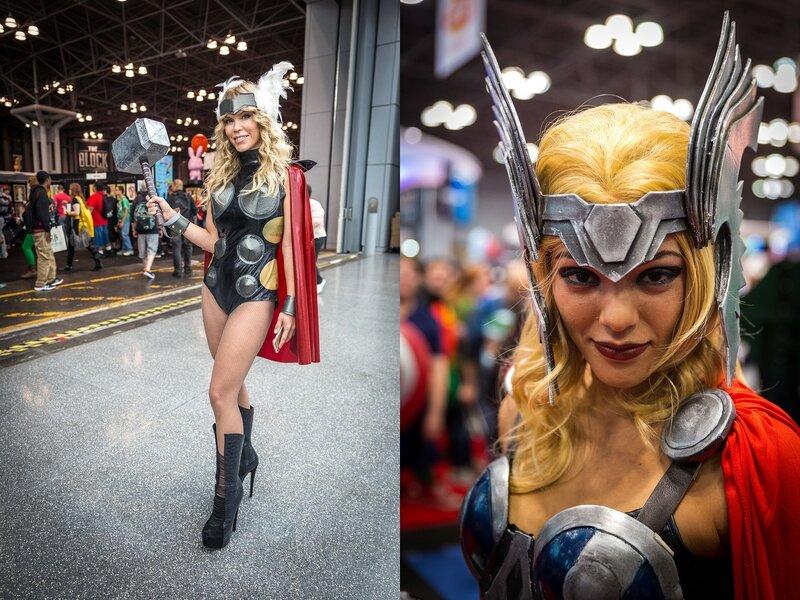 Ежегодный Comic Con в Нью Йорке   интересные фотографии!