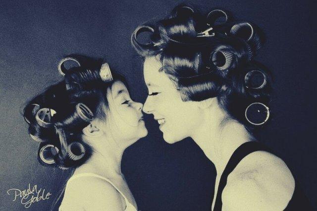 Как две капли воды! 20 фото   похожие мамы и дочки