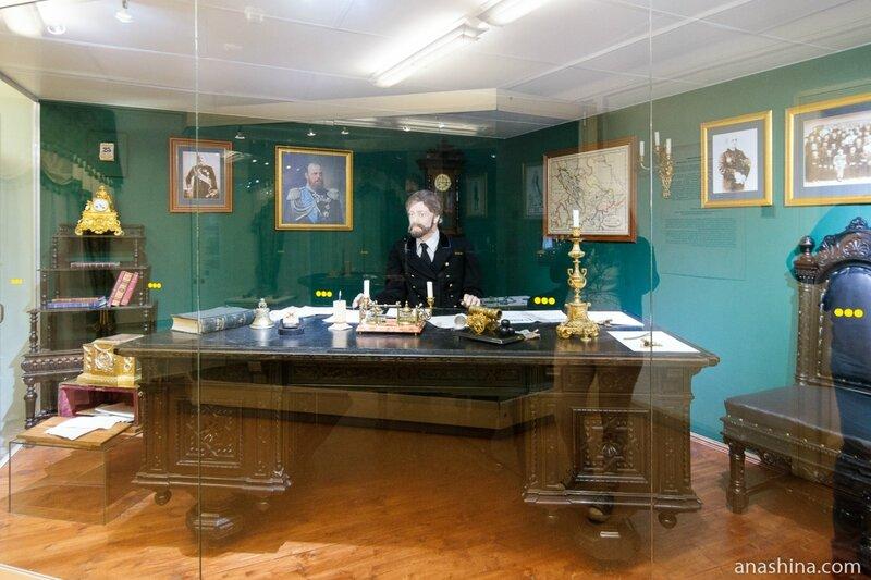 Экспозиция зала «На статской службе», Национальный музей Республики Карелия, Петрозаводск