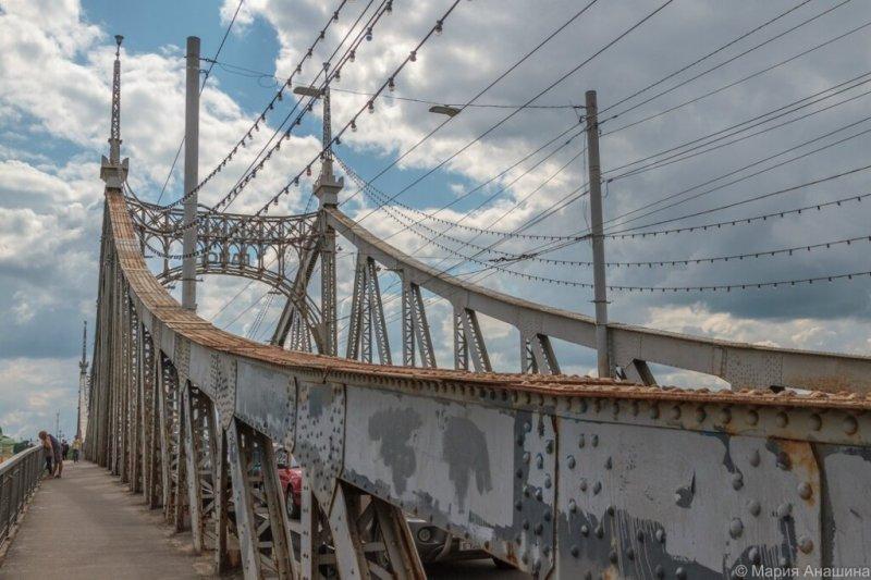 Старый Волжский мост, Тверь