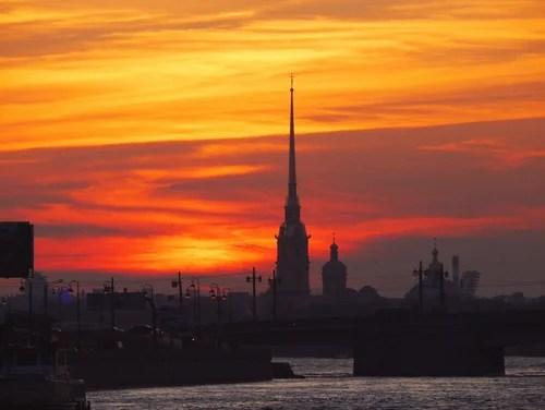 Петропавловский закат