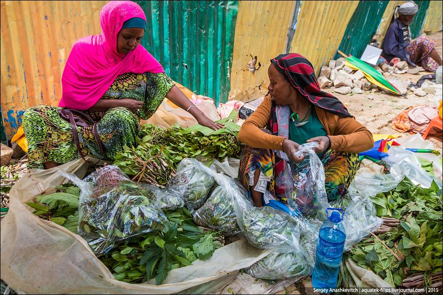 Khat Mercado en Etiopía