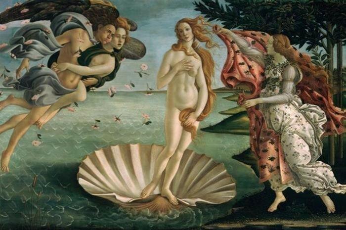 Вид на шедевры живописи с неожиданного ракурса