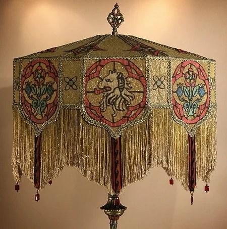 декор плафона лампы своими руками