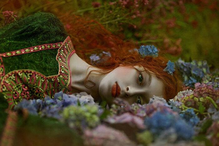 *Тень стыда*. Модель: Офидия. Автор фото: A.M.Lorek Photography.