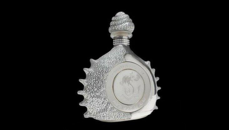 Pasión Azteca, Platinum Liquor Bottle от Tequila Ley – $3 млн.