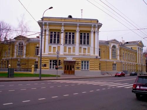 Большая Пироговская, дом 4