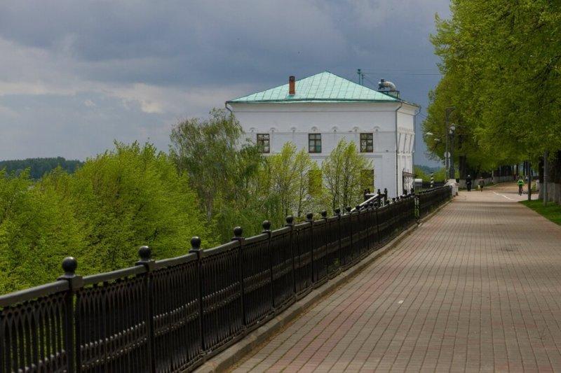 Арсенальная (Волжская) башня, Ярославль