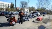 мото, мотоцикл, мотошоу, IMIS, апрель, весна, выставка, город, девушки, красота, люди, небо, облака, прогулка, россия, санкт-петербург