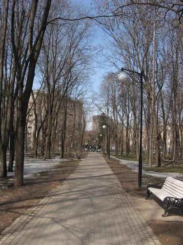 Сквер на Ленинградском проспекте