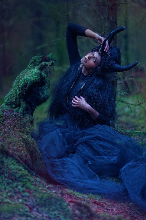 Эльфийская мода. Фото: A.M.Lorek Photography.