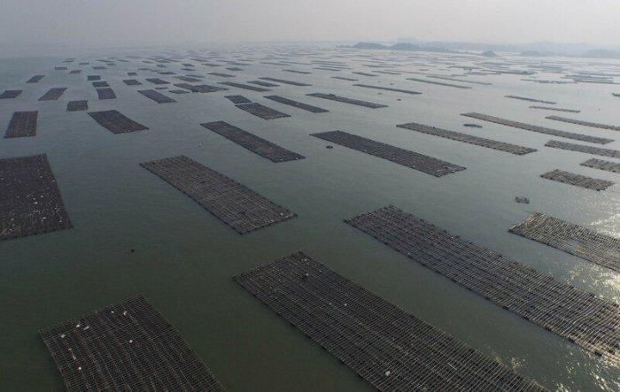 Китай с высоты: красивые и необычные фотографии