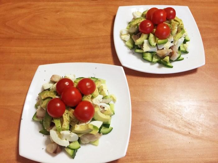 Салат с авокадо