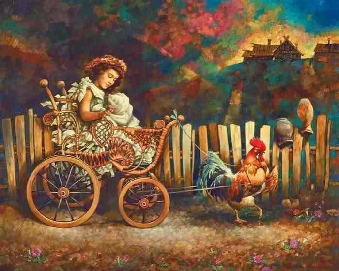 Артавазд Талалян. Сказка, фантазия, мечта.