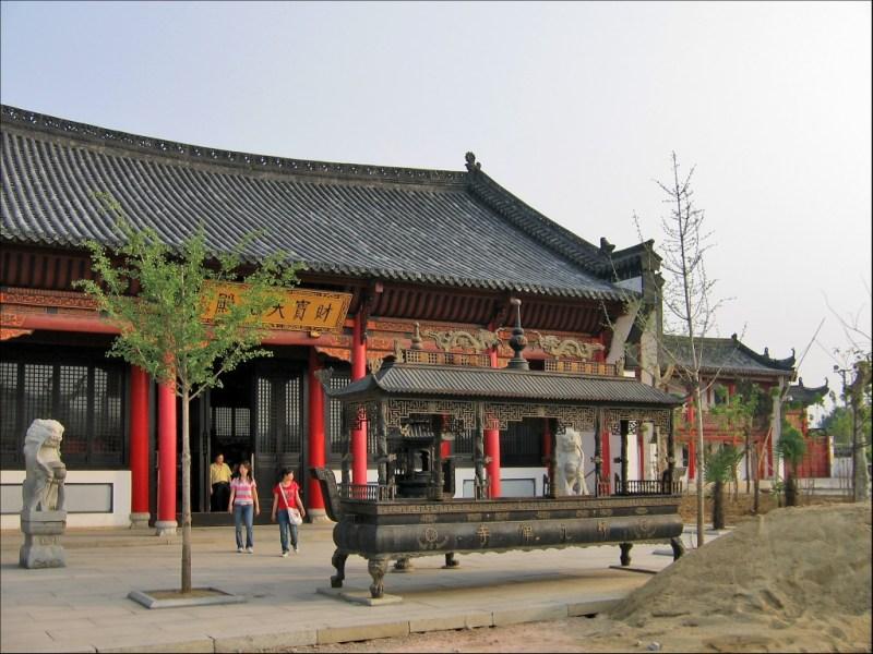 Новые корпуса монастыря, монастырь Гуйюань, Ухань