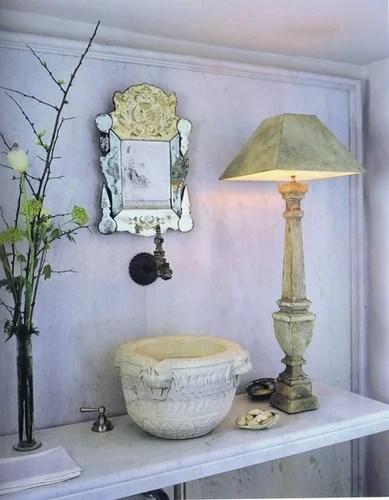 винтажный декор ванны