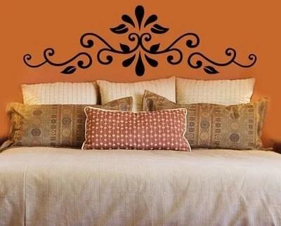 декор над кроватью