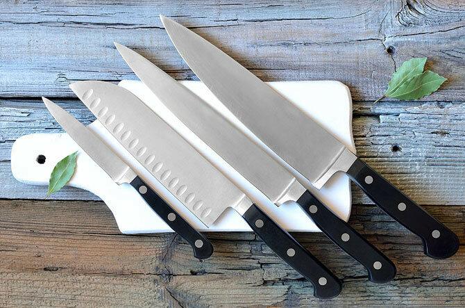 Как выбрать лучший кухонный нож и правильно его использовать