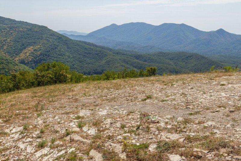 Панорама гор, Кавказ
