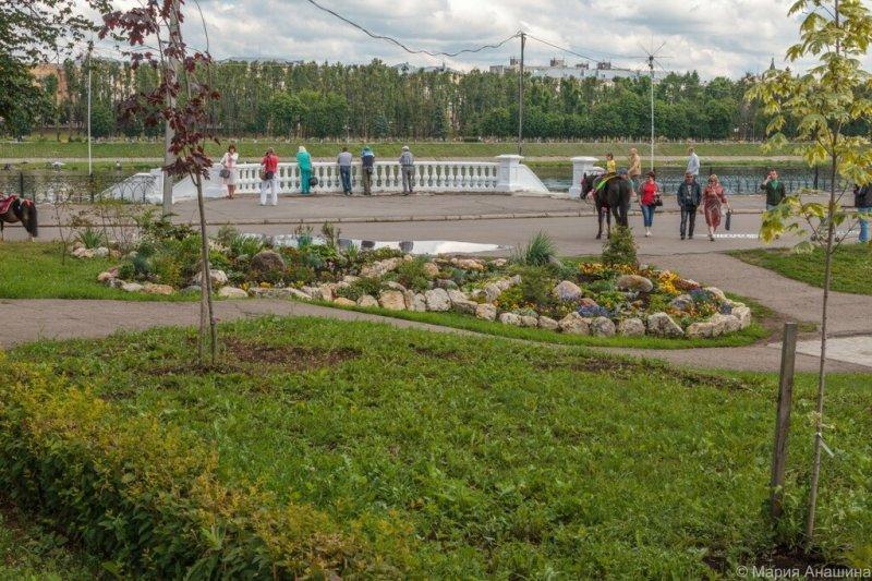 Городской сад в Твери
