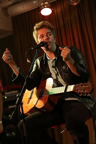 David Brown (Brazzaville) performs at Jazzter club