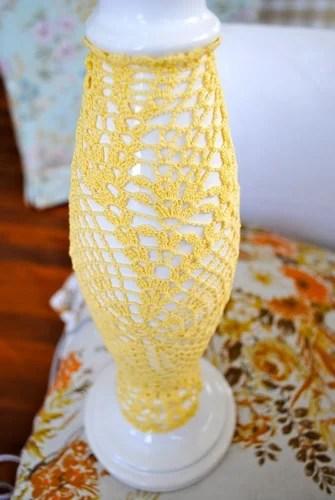 лампа своими руками декорирование