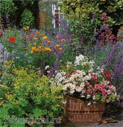 идеи для украшения сада своими руками