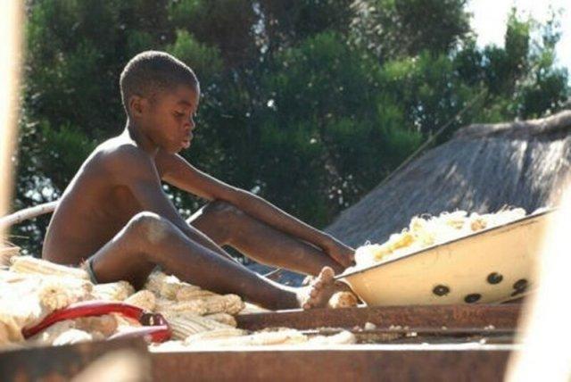 Дети. Замбия, 2008 (фото)