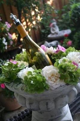 праздничный декор сада