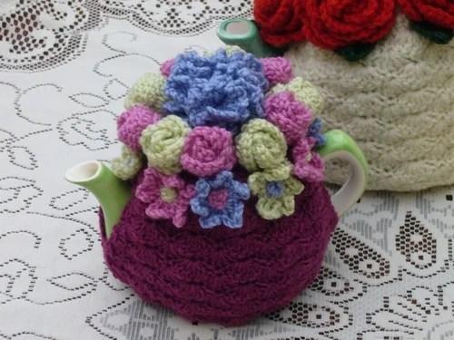 вязаная одежда для чайника вязание для дома