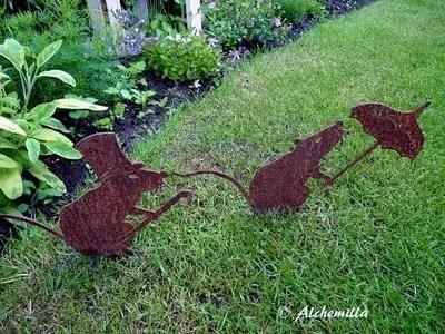 украшение сада ландшафтная скульптура